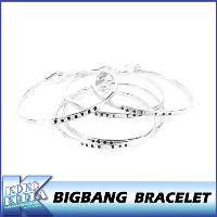 【送料無料】BIGBANG/SILVER BRACELET/BIGBANG THE  CONCERT 0.TO.10 FINAL IN SEOUL MD/公式グッズ/YG/ビッグバン/ブレスレット