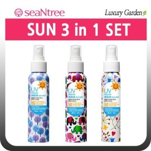 [SEANTREE][SEATREE] UV FINISHER AQUA SUN MIST 3 in 1 SET (80ml*3ea) SUN CARE/ミスト/サンミスト/サンクリーム...