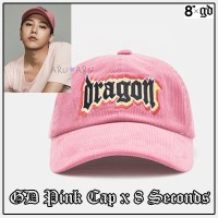 [8 SECONDS][8 X G-Dragon] Dragon Graphic Cap PINK ピンク帽子29658BX82Y G-Dragon GD Collaboration BIGB