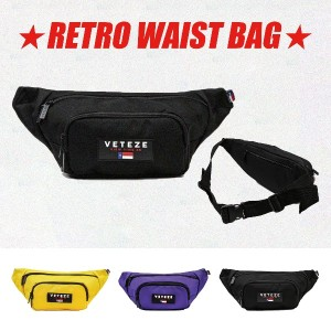 [VETEZE] RETRO WAIST BAG