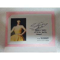 [KPOP] SM TOWN  公式 GOODS - 少女時代 SNSD SUNNY Birthday Event Limited Postcard