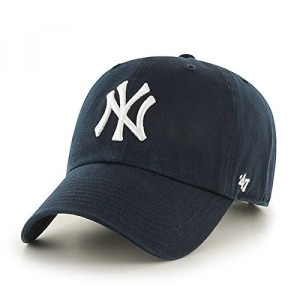 USA MLB New York Yankees Mens 47 Brand Home Clean Up Cap, Navy, One-Size (送料無料)