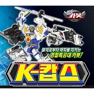 Sonokong Carbot K-Cops Transforming Toy Robot 4段合体 変身 ロボット