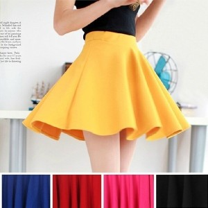 Sexy Women Skirt Fashion Fall Winter Skirts Plus Size XL High Waist Pleated Skirt Black Red Tennis S