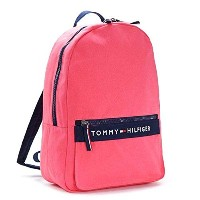 TOMMY HILFIGER トミーヒルフィガー BACKPACK バックパック ダークピンク 6929787 [並行輸入品]