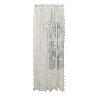 High QualityCarley Lace 56-Inch by 84-Inch Panel With 17-Inch Attached Valance, Ecru