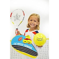 Le Petit Tennis–17、19inジュニアテニスto Go kit- Includes 1テニスバックパックサーモバッグ、1ラケット/ステージ3テニスボール、ラケット...