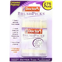 Doctor's Brushpicks Treatment, 1100 Count by Doctor's