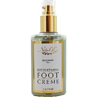 NaturOli, Deep Penetrating Foot Creme, Olivander Scent, 4 oz (120 ml)