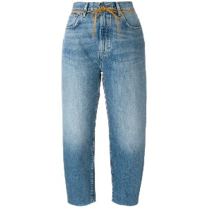 Levi's: Made & Crafted クロップドジーンズ - ブルー