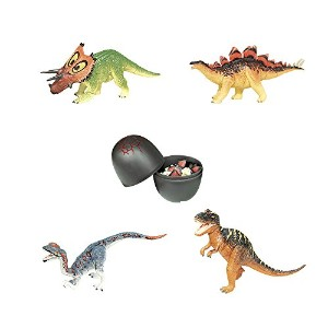 【Assorted 4pcs / Setのukenn 3d恐竜パズルブロックDIY Dino Egg子供教育玩具6766】 n b014spg6dm