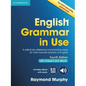 洋書(ORIGINAL) / English Grammar in Use Book(4th Edition) with Answers and Interactive eBook