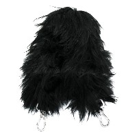 Fendi Strap You fur mini bag strap - ブラック