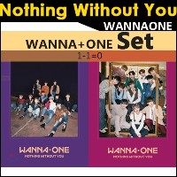 WANNA ONE 1-10 (NOTHING WITHOUT YOU)[1ST REPACKAGE] SET
