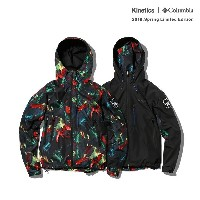 Kinetics × Columbia Pliny Peak Jacket (2色展開) 【OMNI-SHIELD】【撥水】【防汚】【18SP-S】