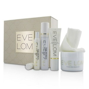 Eve LomRestorative Ritual Set: Cleanser 200ml+Face Treatment 50ml+Eye Treatment 15ml+Daily...