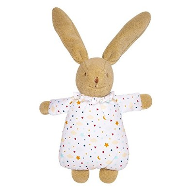 (Brown) - Trousselier Musical Bunny (Fluffy Stars)