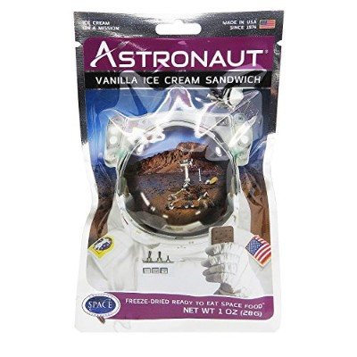 Astronaut Vanilla Ice Cream Sandwich (One Serving Pouch) by Backpacker's Pantry