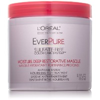 Loreal Ever Pure moisture deep restorative masque, rosemary mint - 5.2 oz (並行輸入品)