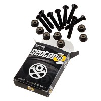 Sector 9 Bolt Pack Set, Black, 2-Inch by Sector 9