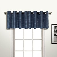 High Quality Brighton Straight Valance, 54 by 18-Inch, Navy