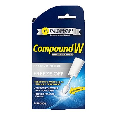Compound W Freeze Off Wart Removal System, 8 disposable applicators by Compound W
