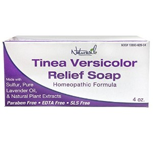 Naturasil Homoeopathic Remedies Soap for Tinea Versicolor, 4 Ounce by Naturasil