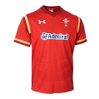 2015-2016 Wales Rugby Home WRU Supporters Shirt (Red)