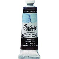 Grumbacher Pre-Tested Oil Paint, 37ml/1.25 oz., Arctic Blue (P313G) by Grumbacher