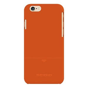 【Seidio SURFACE Case for iPhone 6 ONLY [Slim Protection] - Retail Packaging - Orange by Seidio】 b00opdkac6