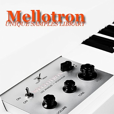 MELLOTRON - THE VERY BEST OF/ORIGINAL SAMPLES LIBRARY in WAVes format on DVD