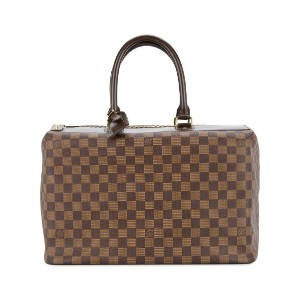 LOUIS VUITTON PRE-OWNED Greenwich PM ボストンバッグ - ブラウン