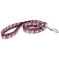 【DoggyRide Fashion Dog Leash, 5-Feet, Van Heemskerck Bild84, Pink/Purple by DoggyRide】 b00kxh2fh6
