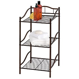 【Creative Bath Products Complete Collection 3 Shelf Storage Tower, Oil Rubbed Bronze by Creative...
