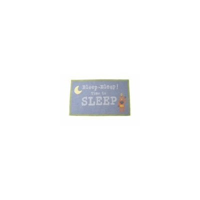 The Little Acorn Rug, Bleep, Bleep Time To Sleep Robot by Little Acorn