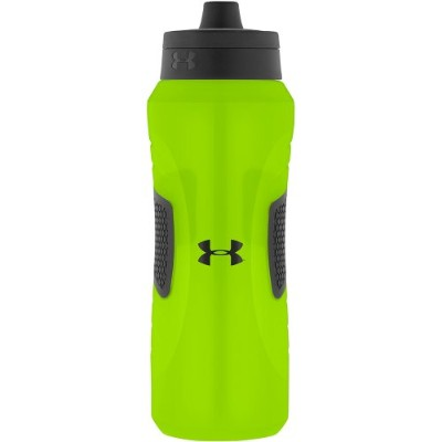 Under Armour Undeniable 32 Ounce Squeeze Bottle, Hyper Green by Under Armour