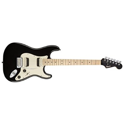 Squier by Fender エレキギター Contemporary Stratocaster® HH, Maple Fingerboard, Black Metallic