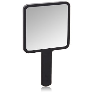 3 Concept Eyes - Square Mini Hand Mirror All Black 【海外直送品】