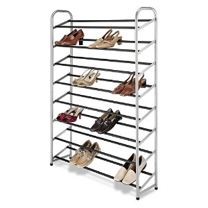 High Quality Freestanding 40 pair Shoe Tower