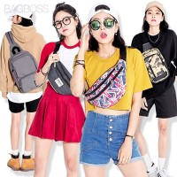 [BAGBOSS] 7s ウエストバッグ ボディバッグ ?Collection? 韓国で人気!! (.~) かばん? ポケットで収納 /クリスマス&ギフト