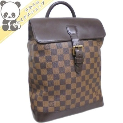 LOUIS VUITTON ルイヴィトン ソーホー リュック ダミエ エベヌ N51132 【送料無料】