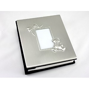 Skyway Keepsake Baby Photo Picture Frame Album Silver - Engravable by Skyway Products