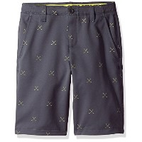 Under Armour Boys ' Match Play Printed Shorts グレー