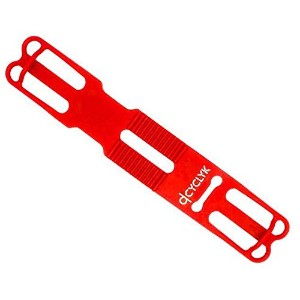 CYCLYK(サイクリック) Silicone - Holder for Smartphone スマートフォン用シリコンホルダー (Red) [並行輸入品]