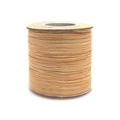 Matte Raffia Ribbon, 1/4-inch, 100-yard (Natural) by Party Spin