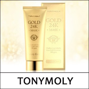 [TONYMOLY] Luxury Gem Gold 24K Mask 100ml  / 贅沢な宝石ゴールド24Kマスク100ml