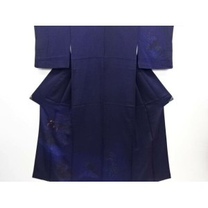 【30%OFF】【IDN】 秋草模様刺繍訪問着【リサイクル】【中古】【着】