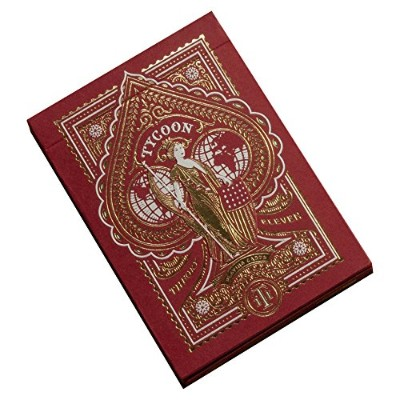 TYCOON PLAYING CARDS BY THEORY11 RED(レッド)