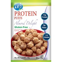 Kay's Naturals Protein Puffs, Almond Delight, 1.2 ounces (Pack of 6) by Kay's Naturals [並行輸入品]