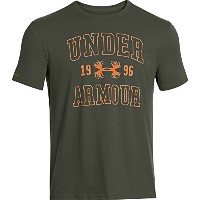 Under Armour Branded Collegiate半袖TeeグリーンM 1250677 – 308-md